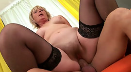 Sexual intercourse crazed granny most..