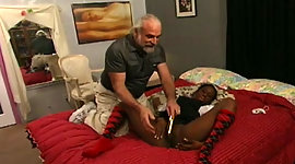 Black college chick is punished by..
