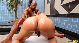 Shaded complexion hunk has sexual..