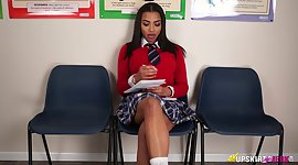 Straight A-student Ruby Summers turned..