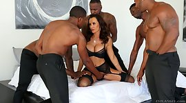 Fully shaped white milf Lisa Ann is..