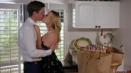 Dapper housewife Mia Malkova is fucked..