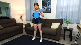 Lustful teen Nikki Sweet is toying..