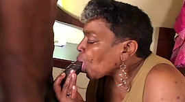 Disgusting sable granny takes on..