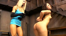 Horny blonde mistress craves to rim..